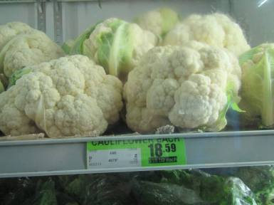 Cauliflower $18.59