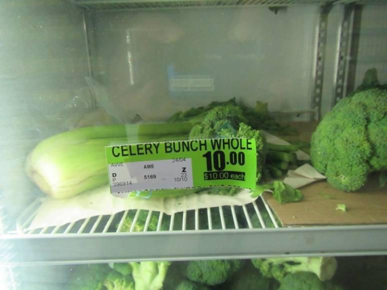 Celery $10